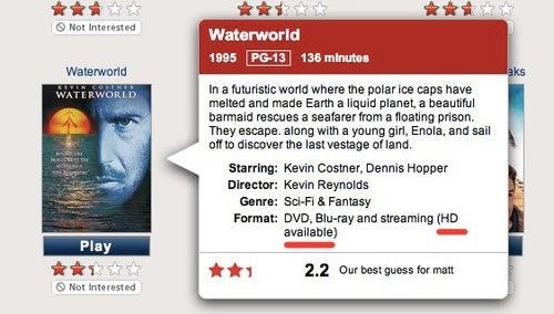 Netflix Finally Streaming Video in HD to PCs and Macs, Hurray