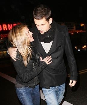For the Holidays, John Mayer Introduces Jennifer Aniston to His TMZ Family