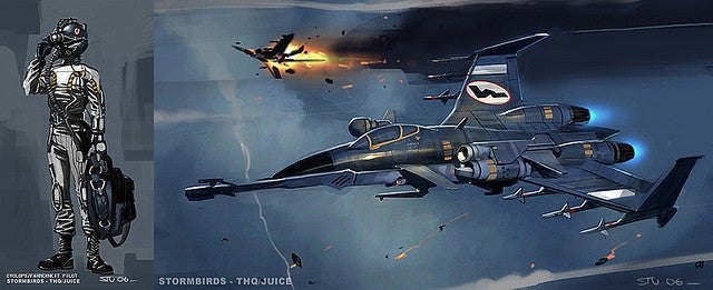 This Concept Art Flies Right Into the Danger Zone
