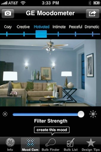 GE Mood Cam App Helps You Pick the Perfect Light Bulb