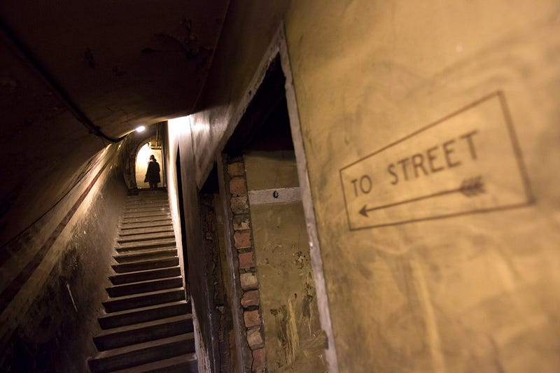 These Creepy Tunnels Are Where Churchill Hid From Nazi Bombs