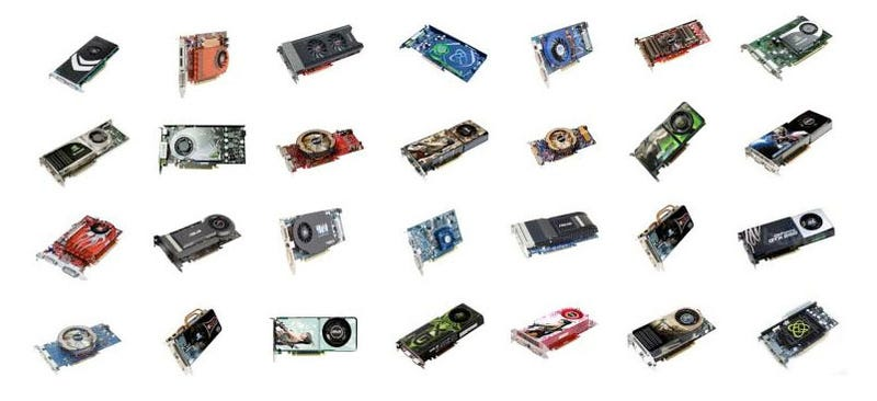 Here Come The First DirectX 11 Cards