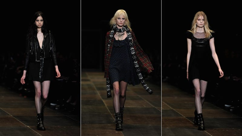 Saint Laurent, for Running Away from Boarding School to Find Courtney Love