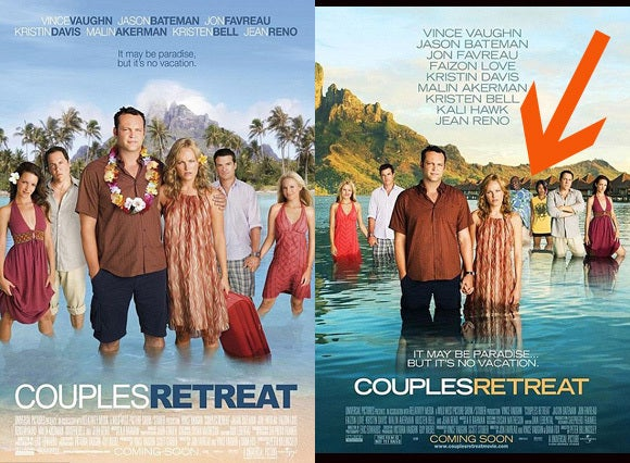 Is It Racist?: The British Couples Retreat Poster