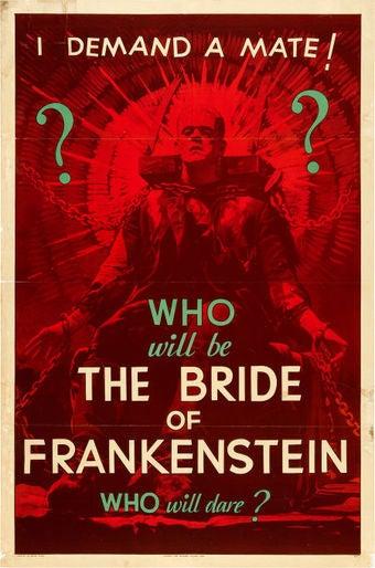 Rarest movie poster in the world on sale, features Frankenstein demanding sex
