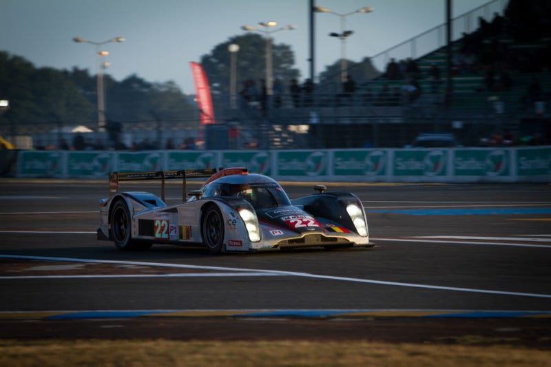 The intoxicating beauty of Le Mans cars at sunset