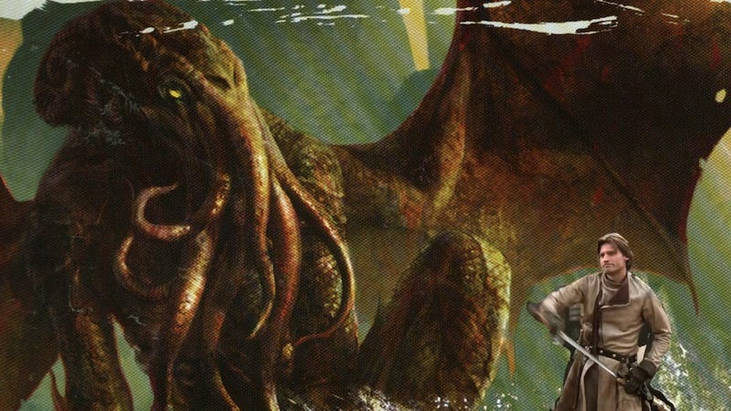Jaime Lannister vs. Cthulhu, written by George R.R. Martin