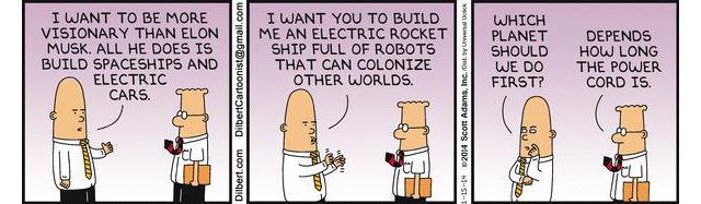 Dilbert is awesome