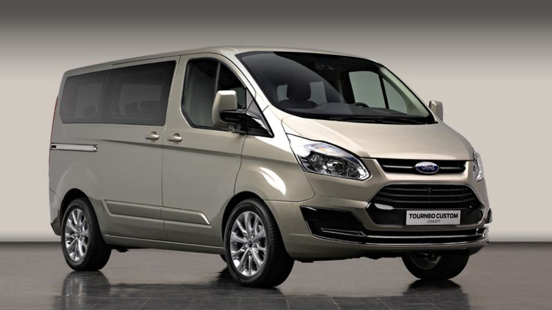 Ford Tourneo Custom Concept: A Fancy Van For Europeans