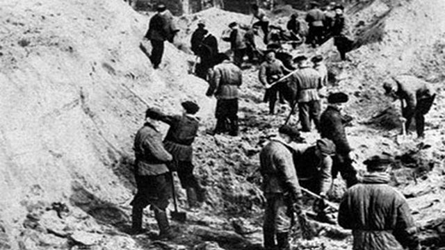 Released documents show U.S. helped hush Soviet massacre of thousands