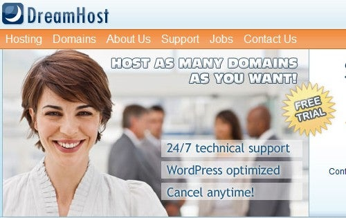 Best Personal Web Host: DreamHost
