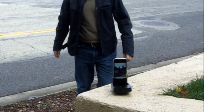 This Motion Phone Dock Tracks You Everywhere You Go