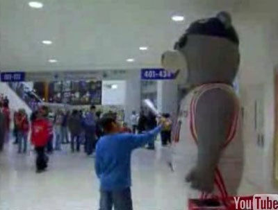 When Oversized NBA Mascots Attack