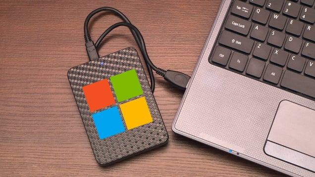 Cómo preparar un disco externo con una versión ejecutable de Windows 8