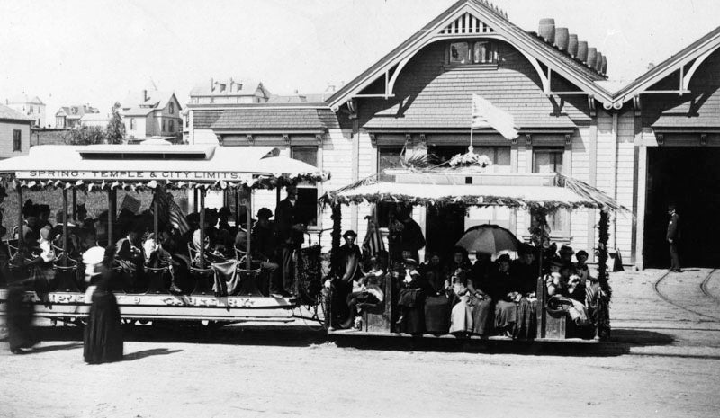 L.A. Once Had Cable Cars (Just Like San Francisco's)