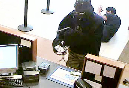Darth Vader robbed a bank in Long Island