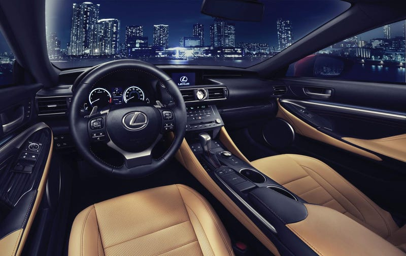 All-New Lexus RC Coupe To Make World Debut At The Tokyo Motor Show