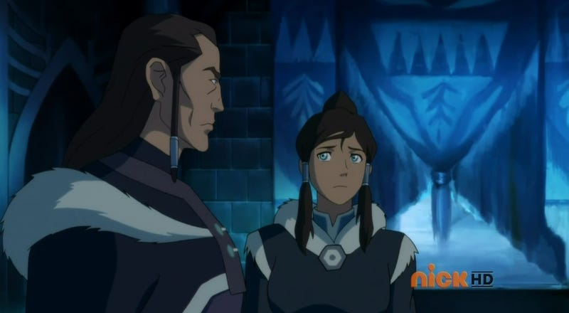 This week's Korra reveals that Aang was kind of a sucky dad