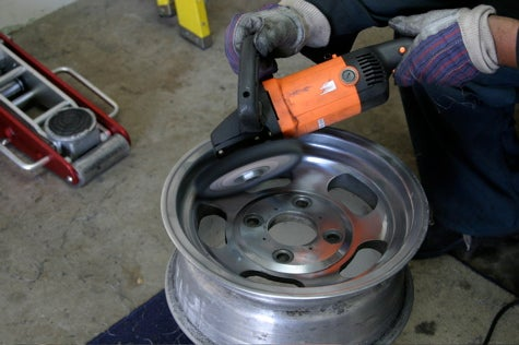 And You Will Know Us by the Trail of Parts: Polishing Aluminum Wheels