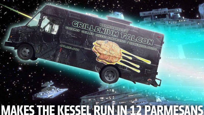 Finally, A Star Wars-Themed Food Truck