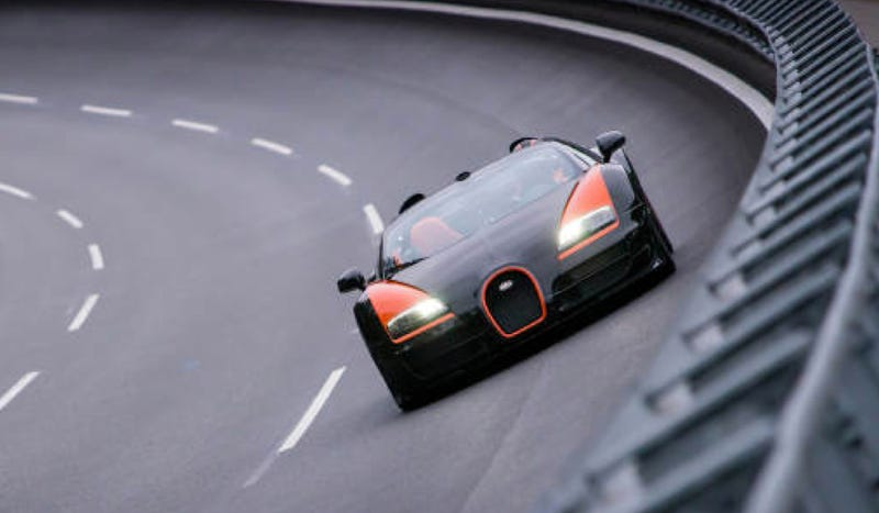 The Bugatti Veyron Grand Sport Vitesse Is The Fastest Convertible In The World