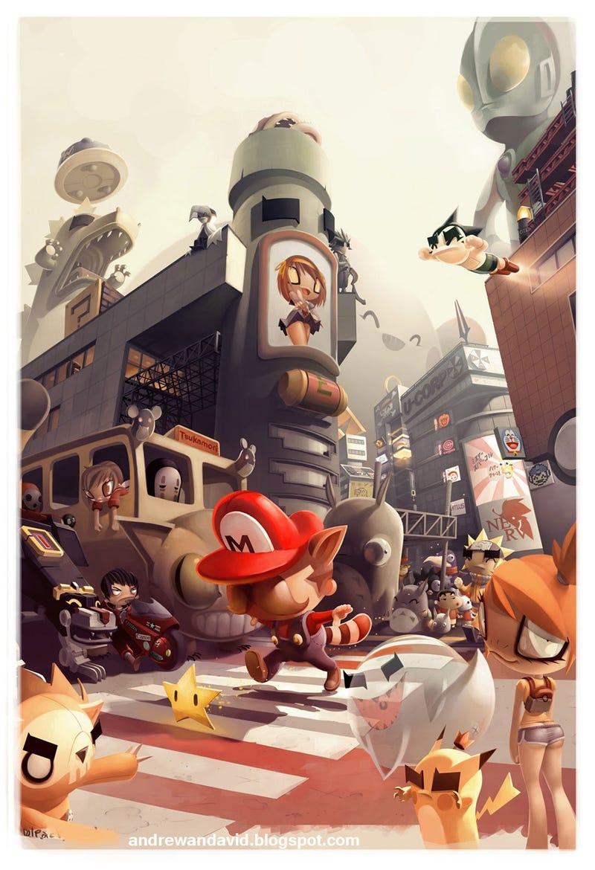 Shibuya, the Animated Version