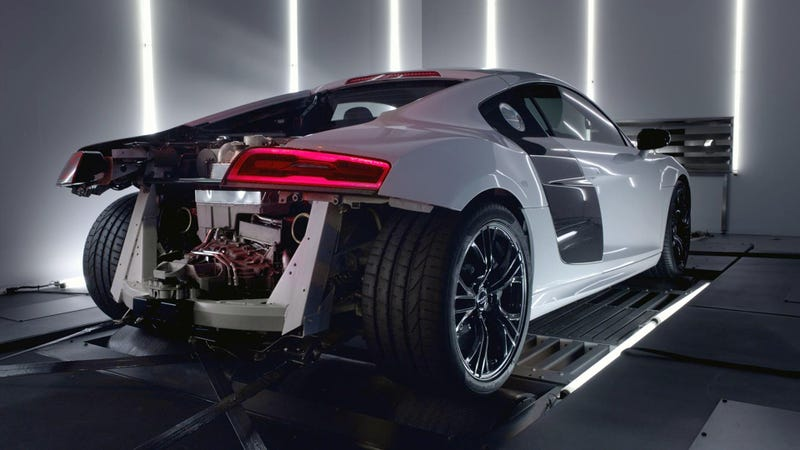The Audi R8 V10 Plus Is Better A Bit Stripped