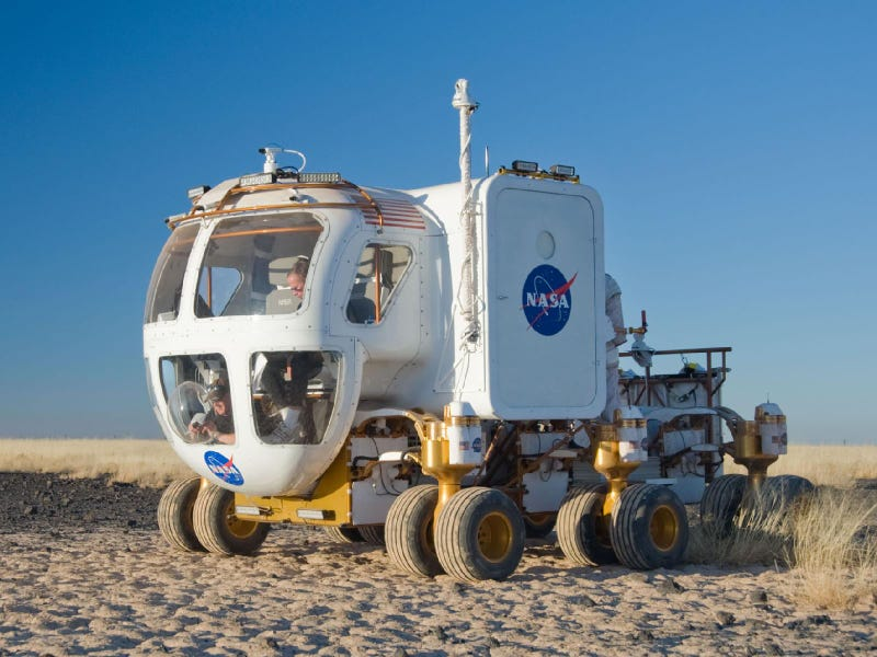 New NASA Lunar Rover In Presidential Inaugural Parade