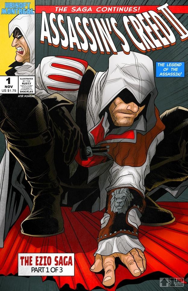 Assassin's Creed as Spider-Man? Sure.