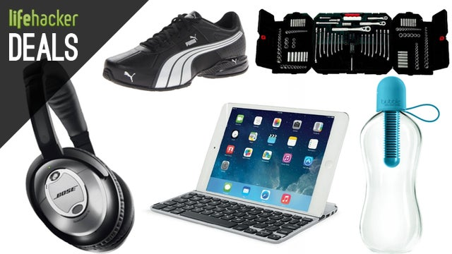 Deals: Custom Bluetooth Speaker, Puma Shoes, iPad Keyboard, Logitech