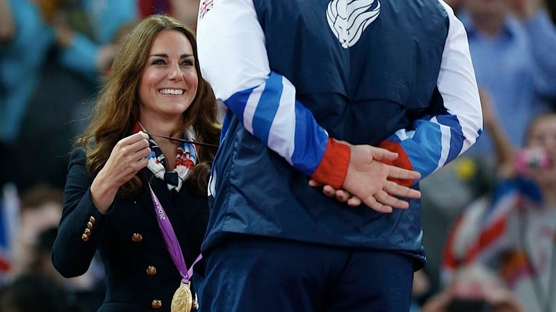 Iranian Discus Thrower Refuses to Shake Kate Middleton's Hand at the Paralympics and the World Nibbles Its Cuticles