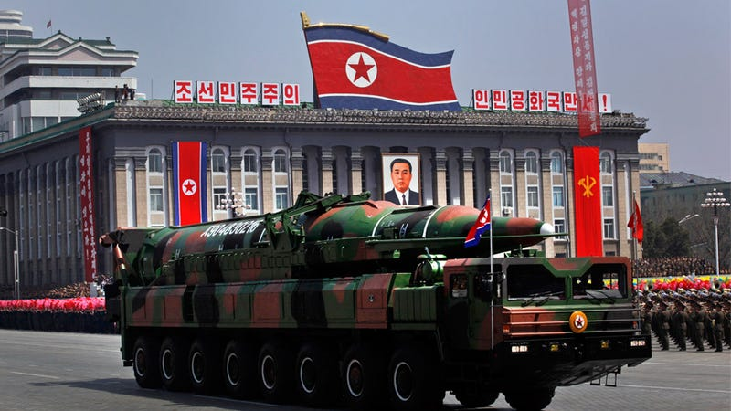 Pentagon Report: North Korea Can Probably Stick Nukes on Missiles Now