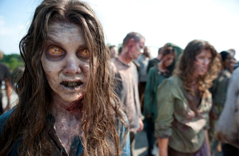 First official look from Walking Dead season 2 reveals a zombie makeover!