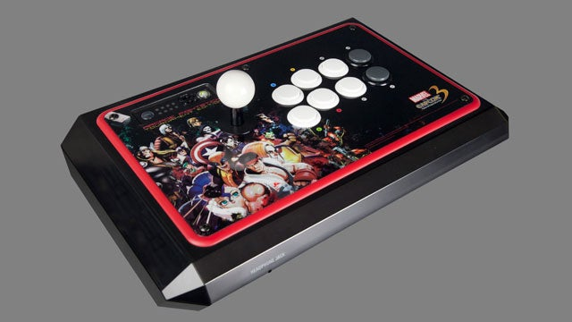 Of Course There's A Limited Edition Marvel Vs. Capcom 3 Arcade FightStick