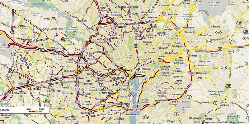 Screw NYC and LA, DC is Hell for Drivers