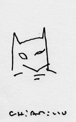 A Bunch Of Comic Artists Draw Batman With Their Eyes Closed