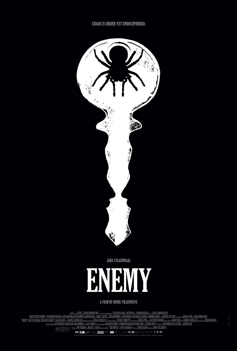 Exclusive reveal of Enemy's optical illusion poster