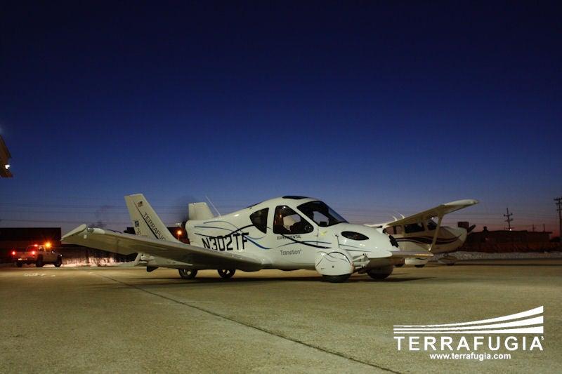 "Terrafugia ""Flying Car"" Makes First Flight"