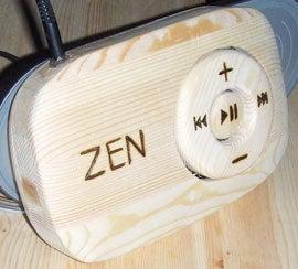 Wooden Creative Zen Stone
