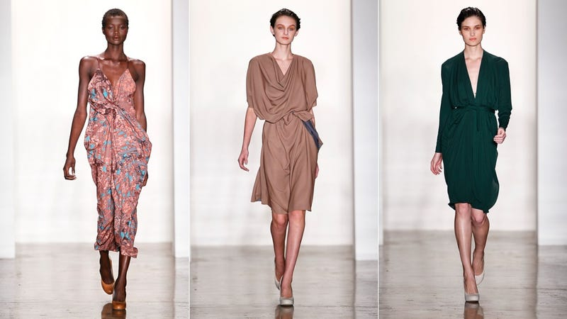 Costello Tagliapietra's Dramatic Draped Dresses