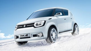 Suzuki's New iM-4 Concept Is Like A Polar Bear Cub In Spiked Boots