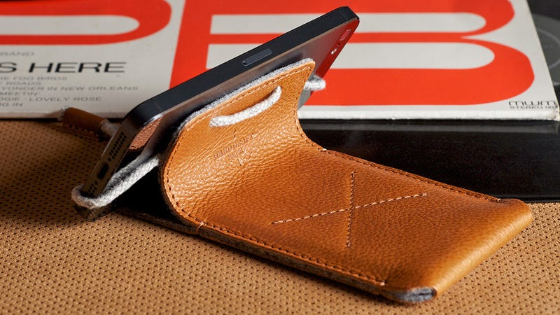 A Leather iPhone Sleeve That Does More Than Just Look Good