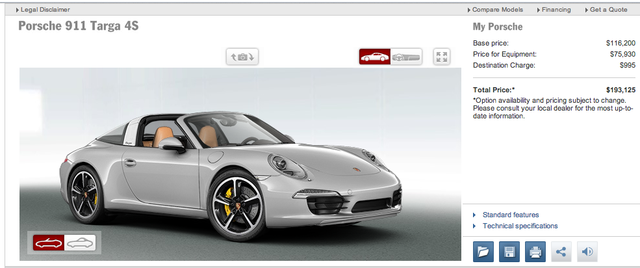 911 Targa Turbo Kinda Sorta Maybe Leaked