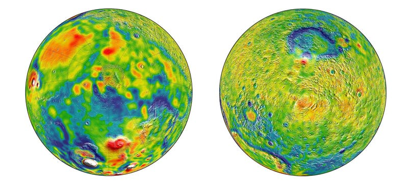The Most Detailed Gravity Maps of Mars Let Us Peer Inside the Planet
