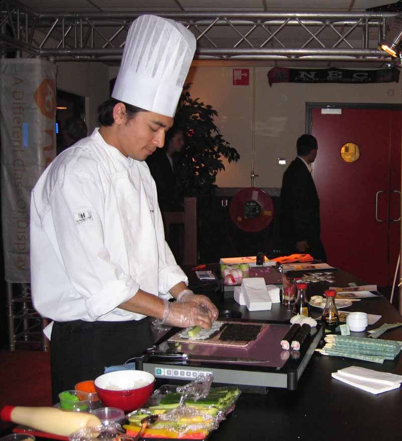 LCD Monitors So Durable You Can Cut Sushi on Them