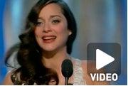Biggest Oscar Moment: Marion Cotillard Acceptance Speech