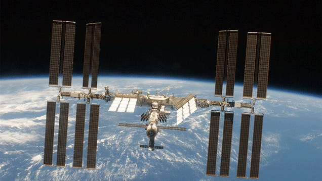 The International Space Station Will Execute an Evasive Maneuver Tonight
