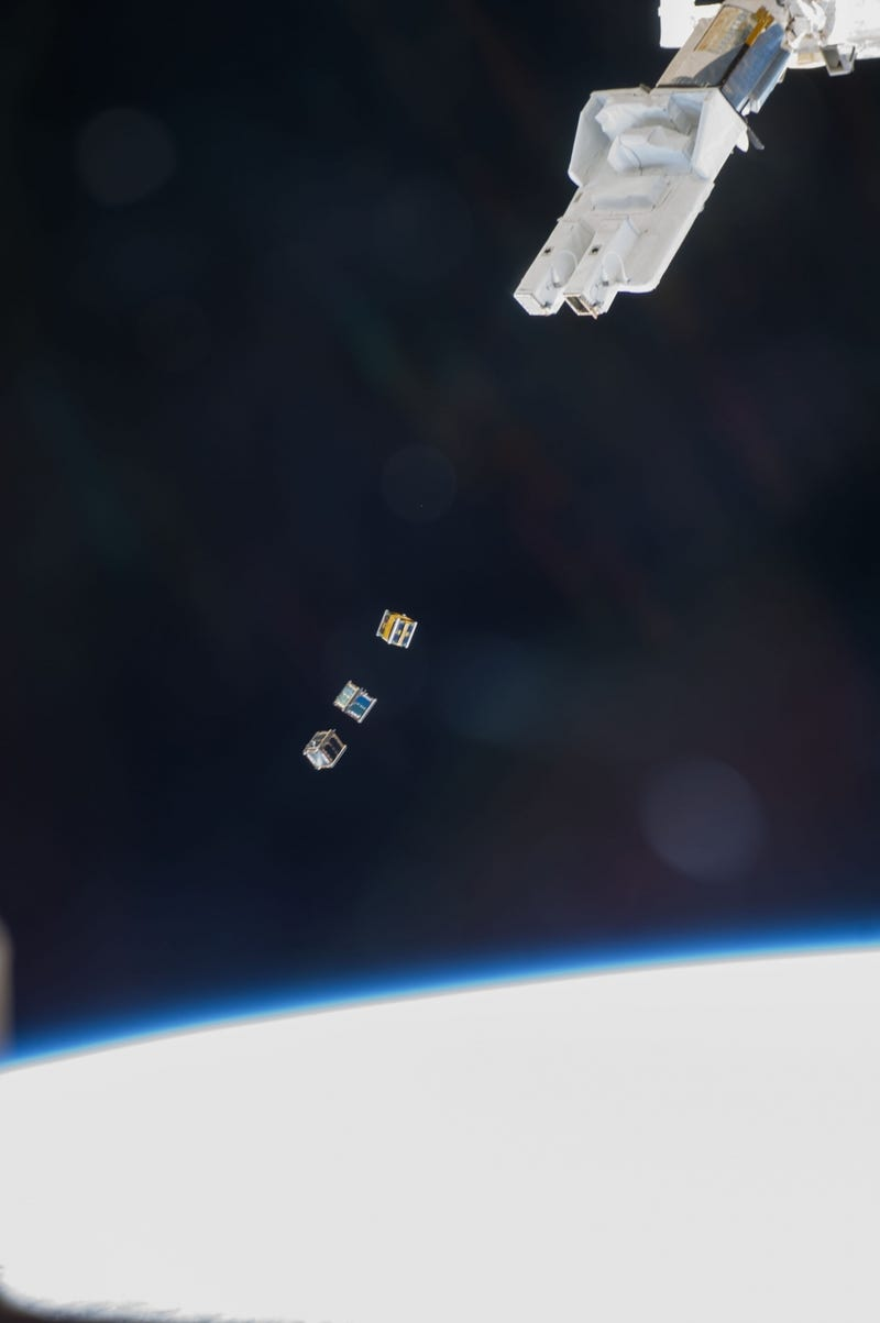 What Are These Boxes Doing Floating Through Space?