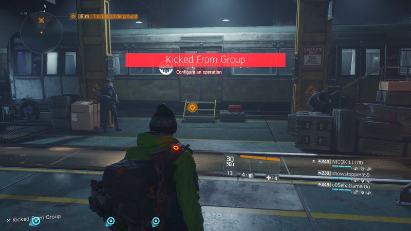 Fellow Division Players, Please Stop Kicking Me From Your Group