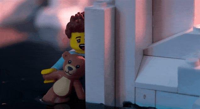 Greenpeace Ruins A Perfectly Good LEGO Diorama To Make A Point
